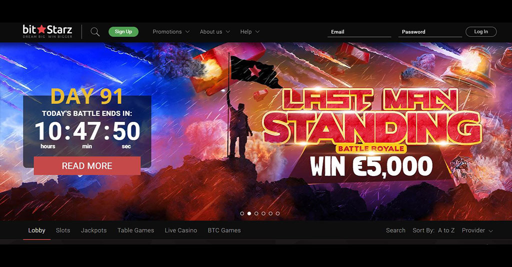 Bitstarz Casino Screenshot