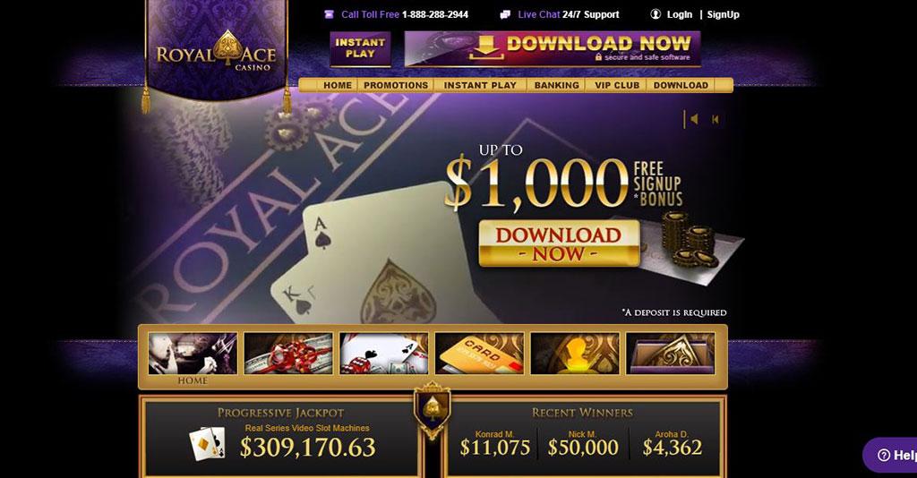 Royal Ace Casino Screenshot