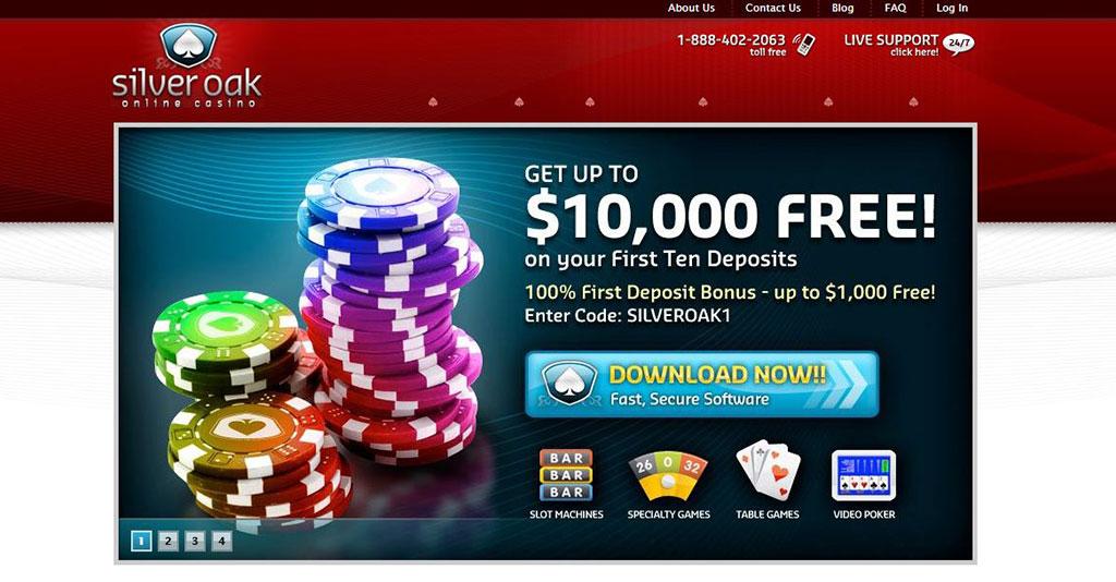 Silver Oak Casino Screenshot