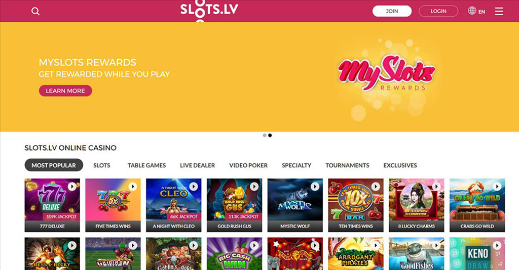 Slots lv Casino Screenshot