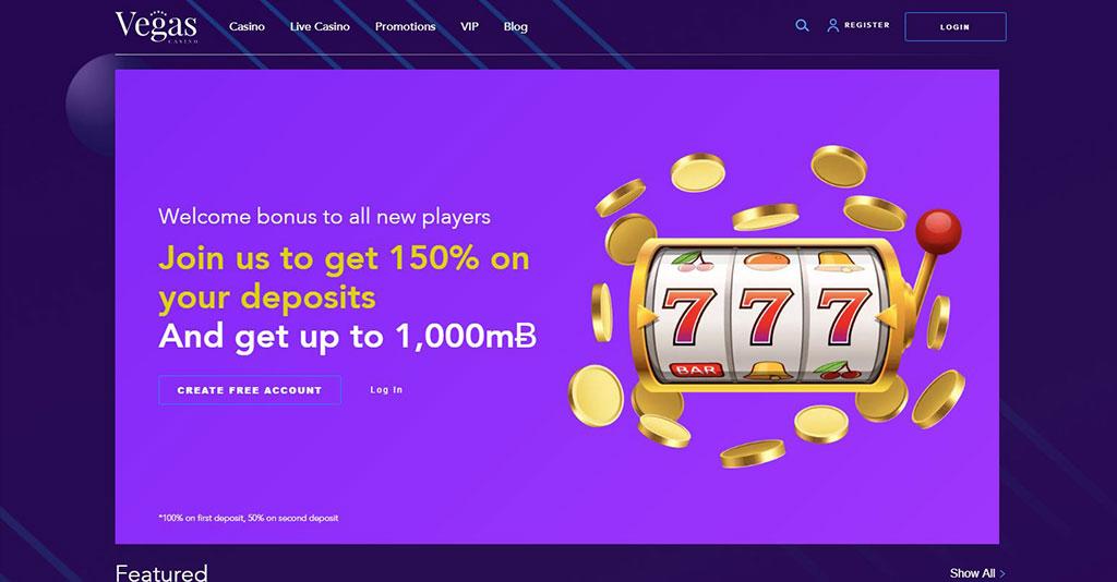 Vegas Casino.io Screenshot
