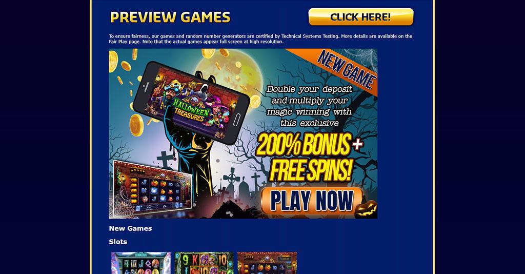 Sun Palace Casino Screenshot